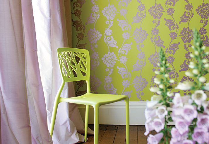 Lime green and light blue wallpaper for Lime green wallpaper for walls