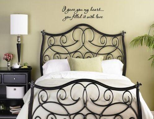 Romantic Quotes For Bedroom Walls Wall Decor Source