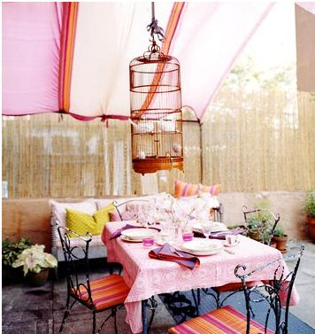 Create A Summer Room With Outdoor Fabric Wall Decor Source